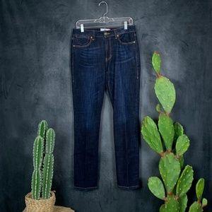 Cabi High Straight Jeans Dark Wash # 3386 Size 6